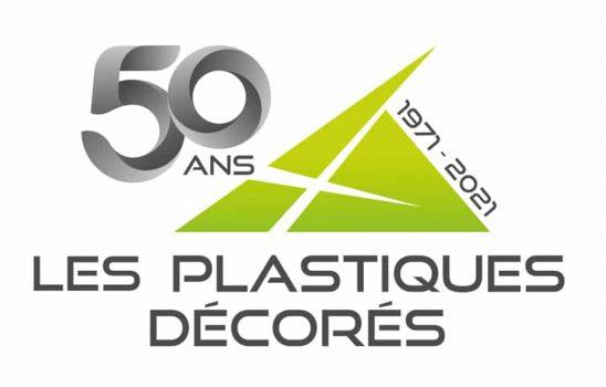 Les Plastiques Décorés - Logo 50 ans